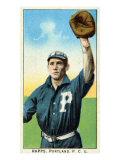 Portland, OR, Portland Pacific Coast League, Rapps, Baseball Card Print by  Lantern Press
