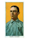 Milwaukee, WI, Milwaukee Minor League, Dan McGann, Baseball Card Print by  Lantern Press