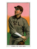 St. Louis, MO, St. Louis Browns, Tom Jones, Baseball Card Print by  Lantern Press