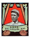 St. Louis, MO, St. Louis Browns, Joe Lake, Baseball Card Poster by  Lantern Press