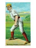 La Crosse, WI, La Crosse Northwestern League, Kennedy, Baseball Card Poster by  Lantern Press
