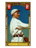 Rochester, NY, Rochester Minor League, Henry Batch, Baseball Card Poster