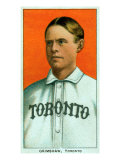 Toronto, Canada, Toronto Minor League, Moose Grimshaw, Baseball Card Poster