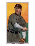 St. Louis, MO, St. Louis Browns, Hobe Ferris, Baseball Card Poster