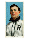 Roanoke, VA, Roanoke Virginia League, Ray Ryan, Baseball Card Posters by  Lantern Press