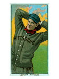 Pittsburgh, PA, Pittsburgh Pirates, Lefty Leifield, Baseball Card Posters by  Lantern Press