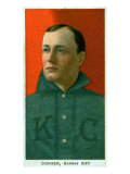 Kansas City, MO, Kansas City Minor League, Gus Dorner, Baseball Card Posters