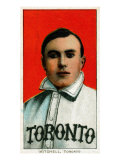 Toronto, Canada, Toronto Minor League, Fred Mitchell, Baseball Card Posters by  Lantern Press