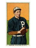Portland, OR, Portland Pacific Coast League, Seaton, Baseball Card Posters by  Lantern Press