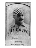 St. Louis, MO, St. Louis Browns, Welsh, Baseball Card Posters by  Lantern Press