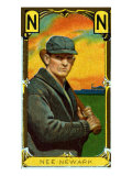 Newark, NJ, Neward Eastern League, John Nee, Baseball Card Poster by  Lantern Press