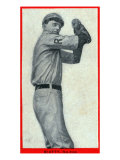 Raleigh, NC, Raleigh Eastern Carolina League, Beatty, Baseball Card Poster by  Lantern Press
