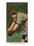 Victoria, Canada, Victoria Minor League, Ward, Baseball Card Poster by  Lantern Press