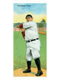 Toledo, OH, Toledo Minor League, Charles Hickman, Baseball Card Poster