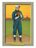Washington D.C., Washington Nationals, Walter Johnson, Baseball Card Prints by  Lantern Press