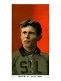 St. Louis, MO, St. Louis Browns, Lou Criger, Baseball Card Poster