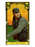 Newark, NJ, Neward Eastern League, Wyatt Lee, Baseball Card Print by  Lantern Press