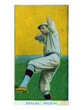 Raleigh, NC, Raleigh Minor League, Booles, Baseball Card Print