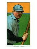 Toledo, OH, Toledo Minor League, Jerry Freeman, Baseball Card Print by  Lantern Press