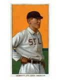 St. Louis, MO, St. Louis Browns, Ray Demmitt, Baseball Card Print