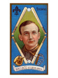 St. Louis, MO, St. Louis Browns, Roderick J. Wallace, Baseball Card Print by  Lantern Press