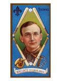 St. Louis, MO, St. Louis Browns, Roderick J. Wallace, Baseball Card Print