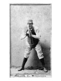 Milwaukee, WI, Milwaukee Minor League, William Fuller, Baseball Card Posters by  Lantern Press