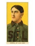 St. Louis, MO, St. Louis Browns, Harry Howell, Baseball Card Posters by  Lantern Press