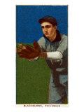 Providence, RI, Providence Minor League, Lena Blackburne, Baseball Card Posters by  Lantern Press