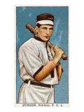 Vernon, CA, Vernon Pacific Coast League, Stinson, Baseball Card Posters by  Lantern Press