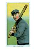 Nashville, TN, Nashville Southern League, Roy Ellam, Baseball Card Posters by  Lantern Press