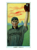Memphis, TN, Memphis Southern League, Scoops Carey, Baseball Card Posters by  Lantern Press