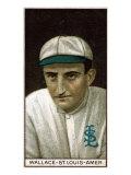 St. Louis, MO, St. Louis Browns, Robert Wallace, Baseball Card Poster
