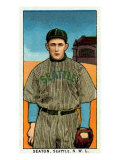 Seattle, WA, Seattle Northwestern League, Seaton, Baseball Card Poster by  Lantern Press