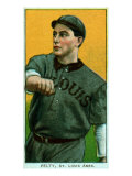 St. Louis, MO, St. Louis Browns, Barney Pelty, Baseball Card Poster