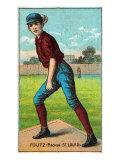 St. Louis, MO, St. Louis Browns, Dave Foutz, Baseball Card Print