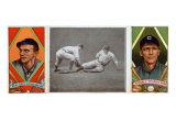 St. Louis, MO, St. Louis Browns, Neal Ball, George T. Stovall, Baseball Card Print by  Lantern Press