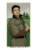 Seattle, WA, Seattle Northwestern League, Bennett, Baseball Card Print by  Lantern Press