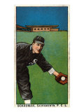 Sacramento, CA, Sacramento Pacific Coast League, Boardman, Baseball Card Print