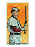 Oakland, CA, Oakland Pacific Coast League, Maggert, Baseball Card Print by  Lantern Press