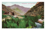 Ogden Canyon, Utah, View of the Hermitage Art by  Lantern Press