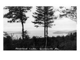 Greenville, Maine, Panoramic View of Moosehead Lake Posters