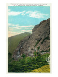 Mount Mansfield, Vermont, View of Cave of the Winds and Great Stone Face Posters by  Lantern Press