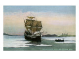 Plymouth, Massachusetts, Representation of the 1621 Mayflower Landing Posters