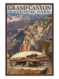Grand Canyon National Park, Arizona, El Tovar Hotel Prints by  Lantern Press
