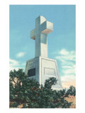 Santa Fe, New Mexico, View of the Cross of the Martyrs Sculpture Prints