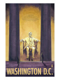 Washington DC, Lincoln Memorial Posters by  Lantern Press