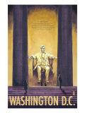 Washington DC, Lincoln Memorial Posters