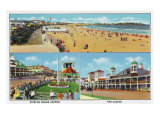 Hampton Beach, NH, General Views of Beach, Ocean Ave, and the Casino Posters