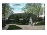 Salt Lake City, Utah, Exterior View of the Tabernacle Art